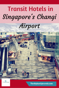Transit Hotels in Singapore Airport