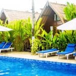 Gili Air Accommodation: Turtle Beach Hotel & Restaurant
