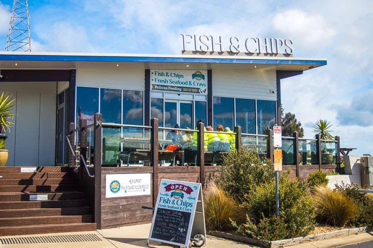 Best fish and chips Phillip Island