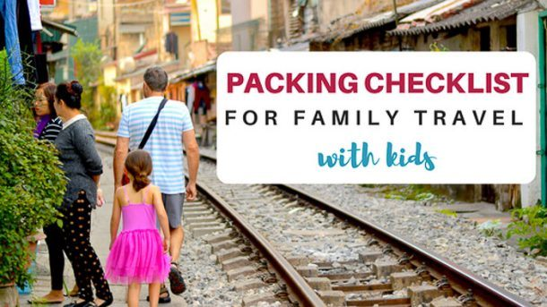 Packing Checklist for Family travel With Kids