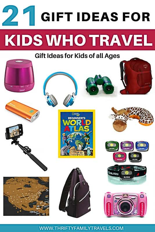 Travel gifts for kids that travel