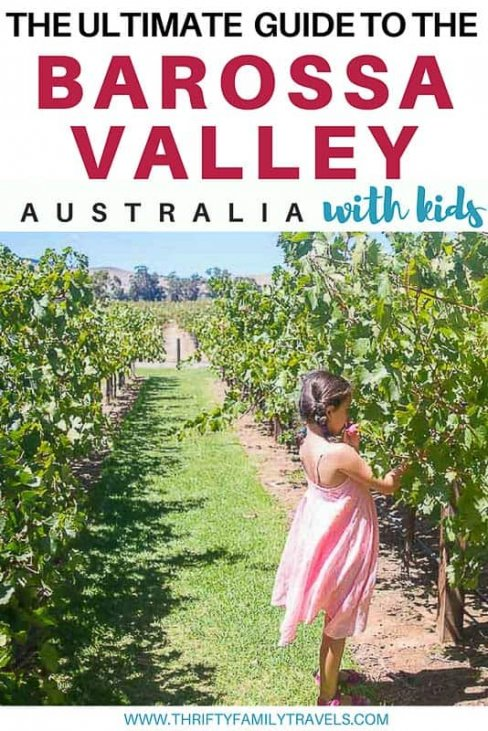 Things to do in the Barossa with Kids