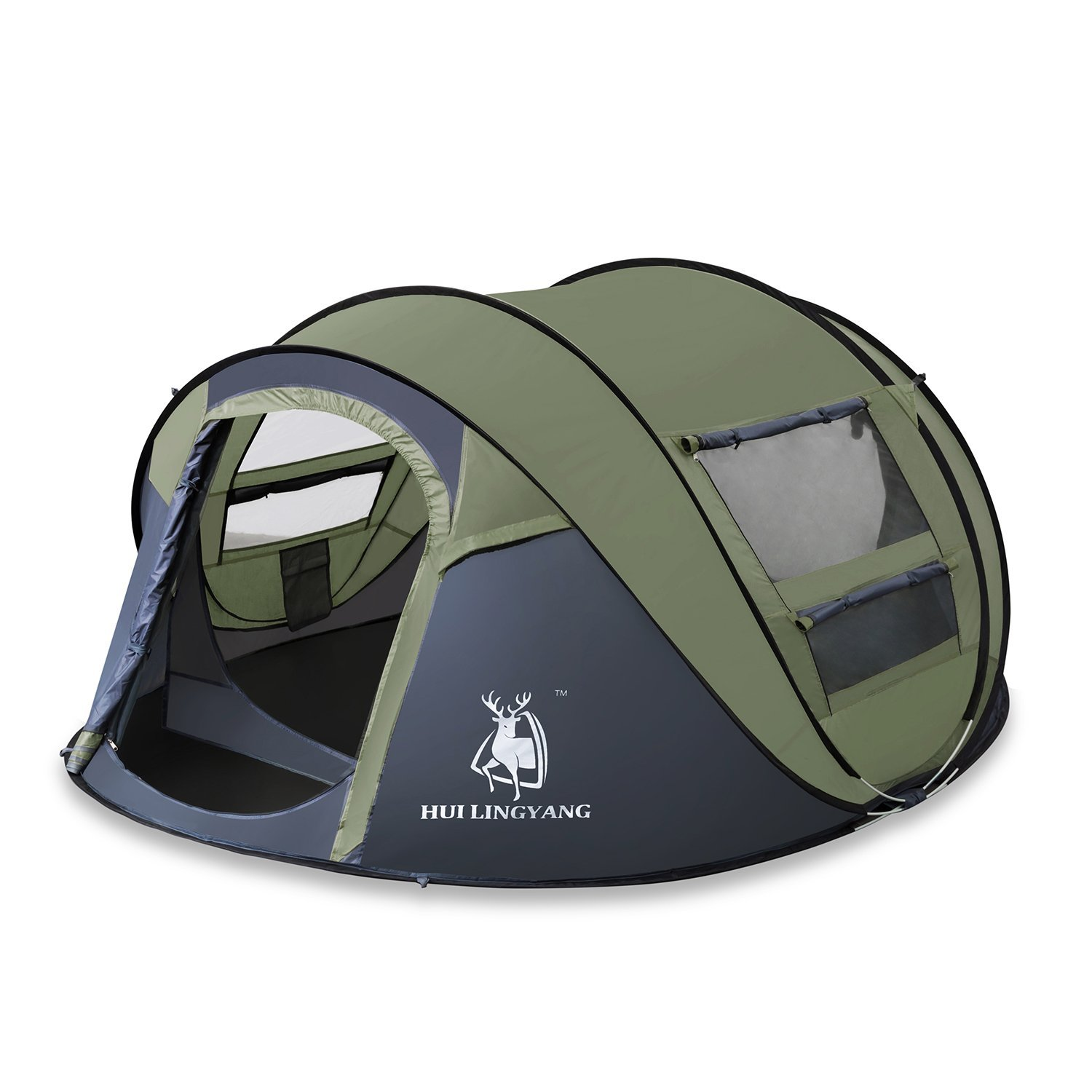6e43b17c01 Hui Lingyang Outdoor Instant 4 Person Dome Tent Review