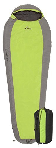 Best Lightweight Synthetic Sleeping Bag: Teton Sports TrailHead Ultralight Mummy Sleeping Bag