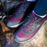 Women's Hiking Shoes: Ascent Explore Merlot Review