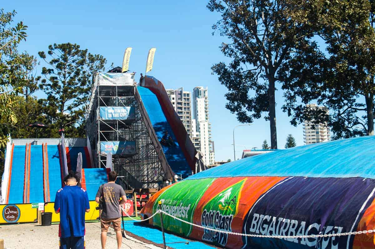 Gold Coast Snow Park - Surfers Paradise attractions kids