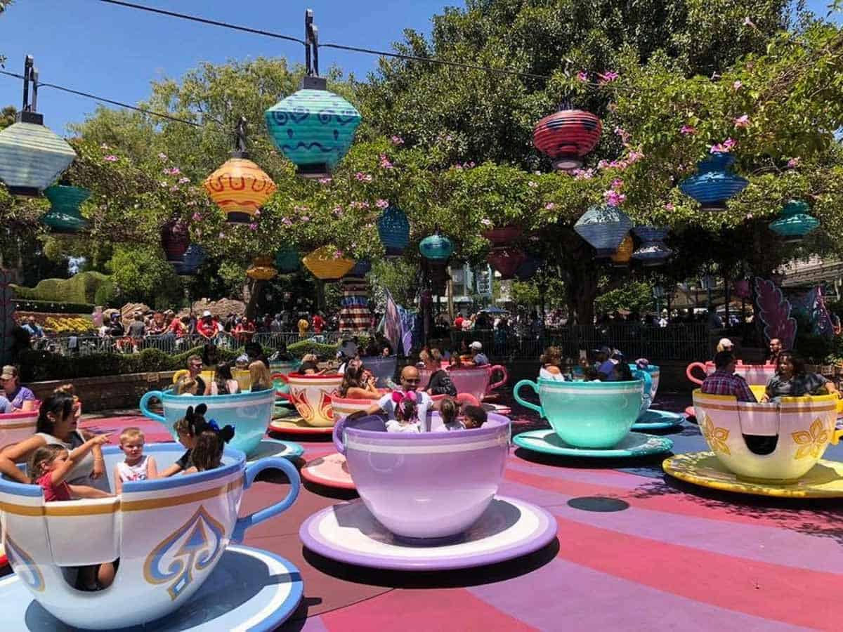 Disneyland - What to do in LA with kids