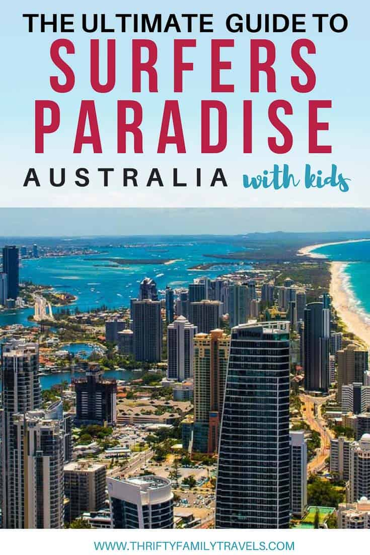 Visit Surfers Paradise with Kids