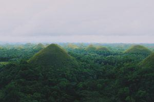 Chocolate Mountains - Bohol - The Philippines