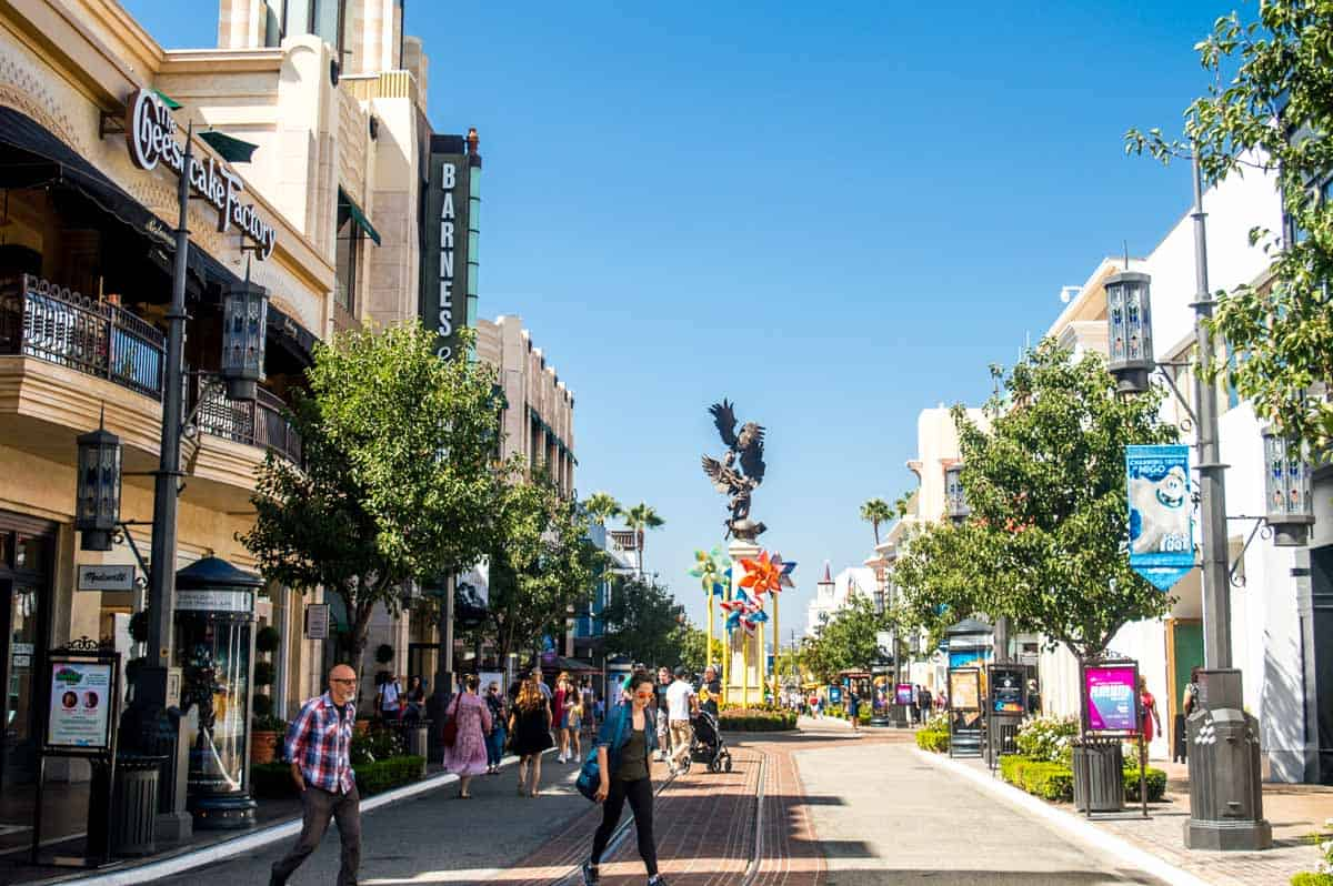 LA tourist Spots