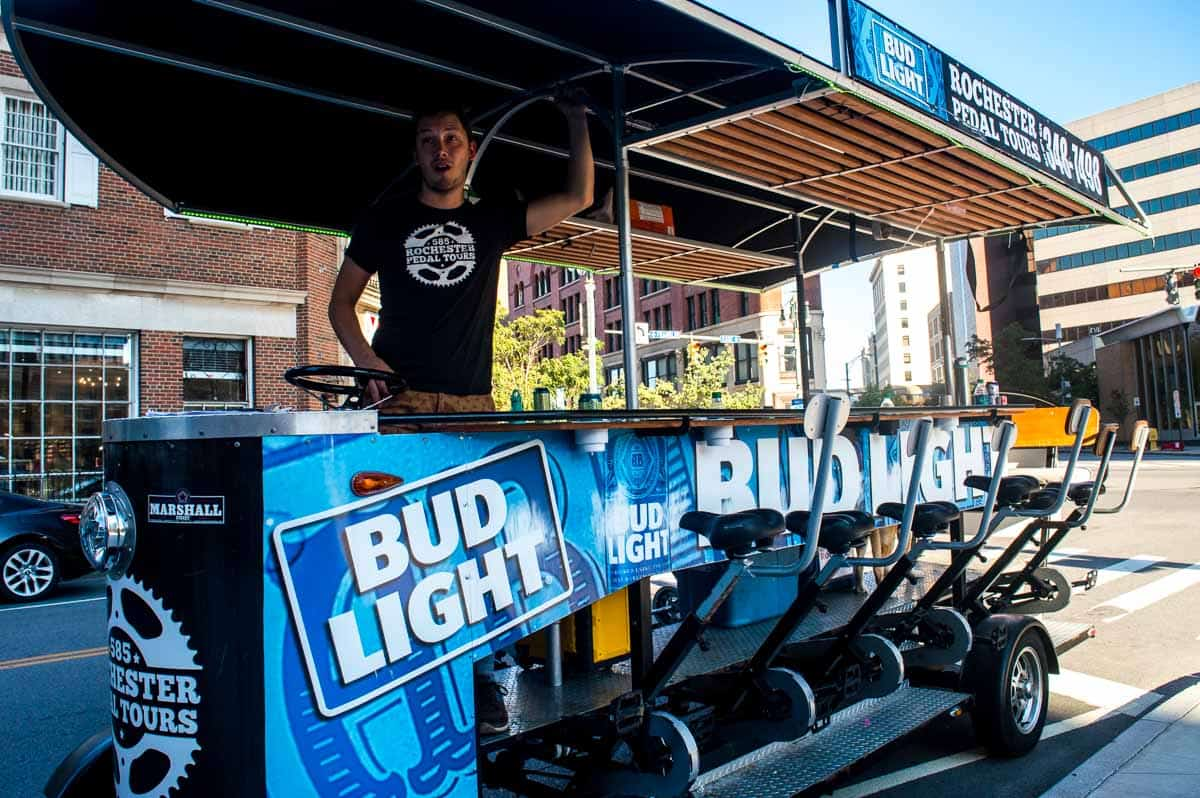 Rochester Pedal Tours - Fun things to do in Rochester