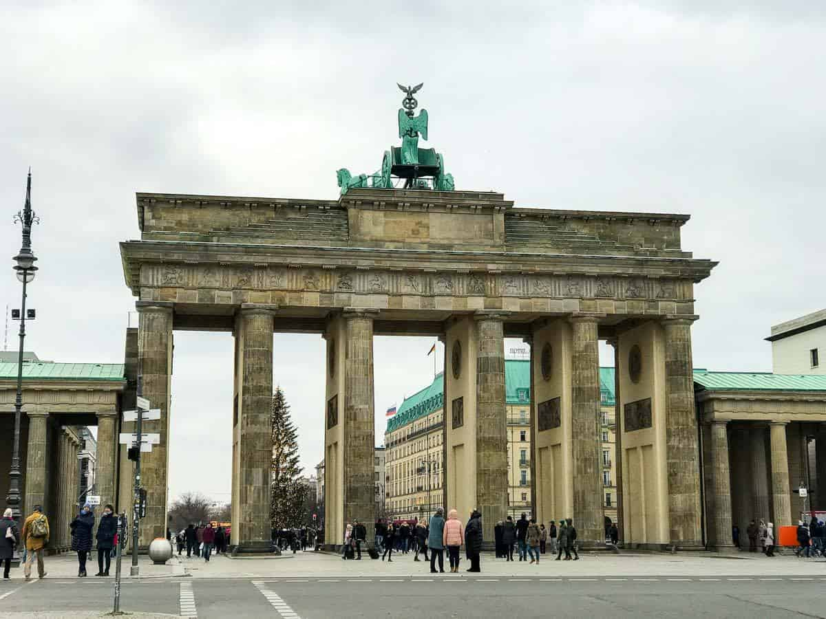 Brandenburg Gate - Berlin attractions