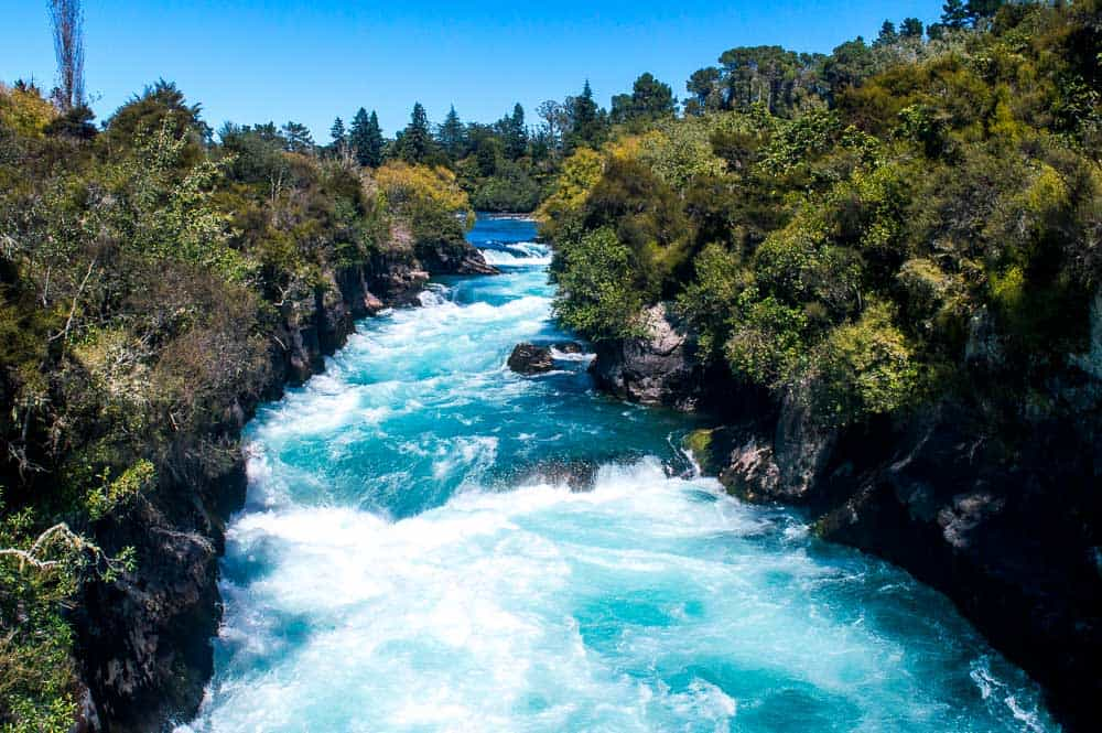 Huka Falls - Taupo attractions