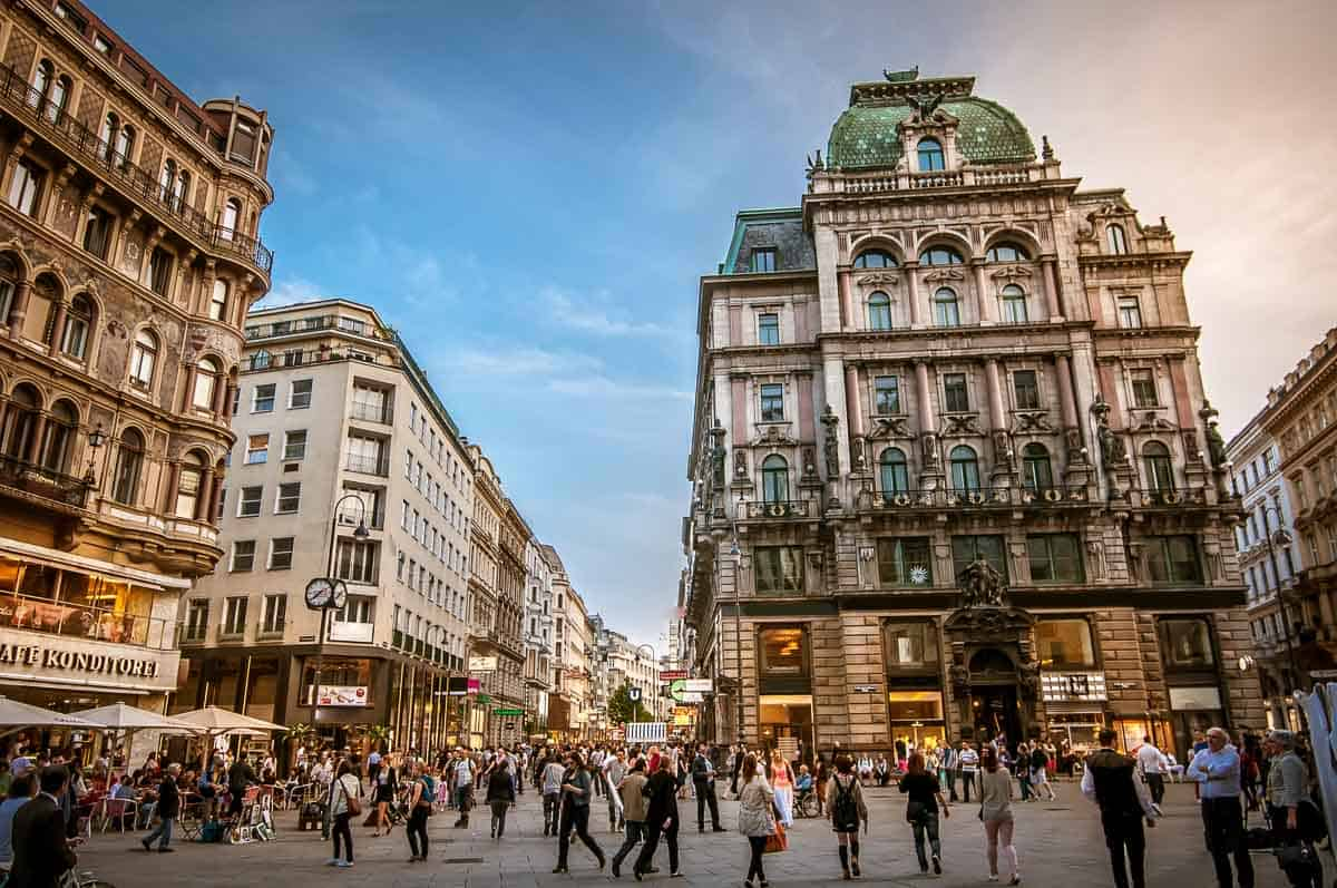 Top sights in Vienna
