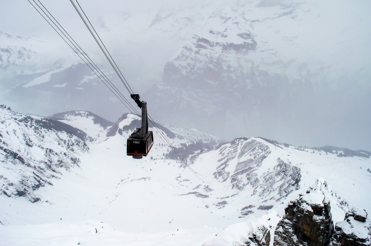 Day trips from Wengen - Schilthorn