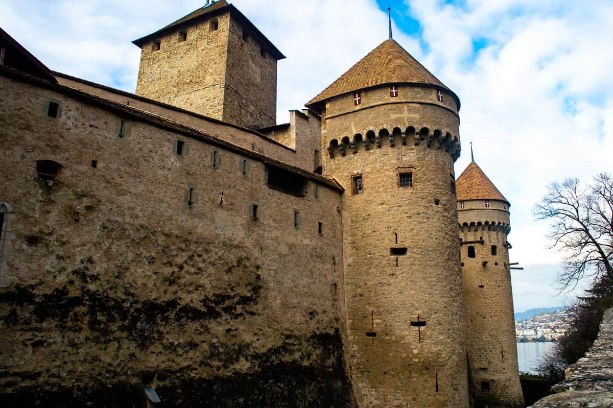 Chateau de chillon montreux