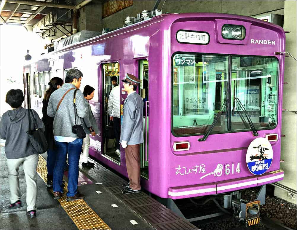 Randen Line - Family things to do in Japan