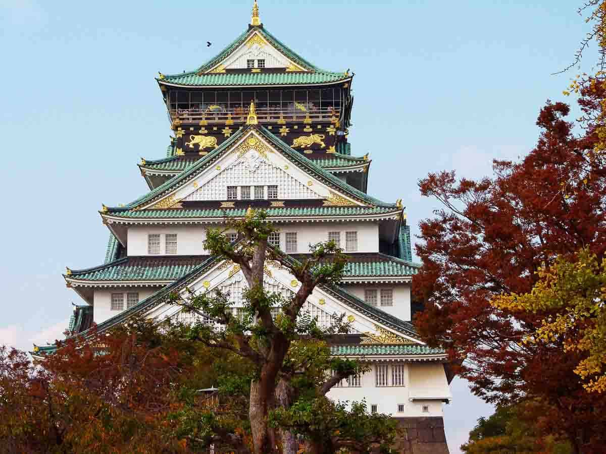 Osaka Castle - things to do in Japan with family
