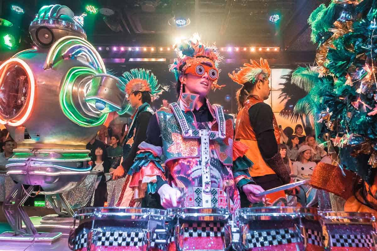 Robot Restaurant - Best things to do in Japan with kids