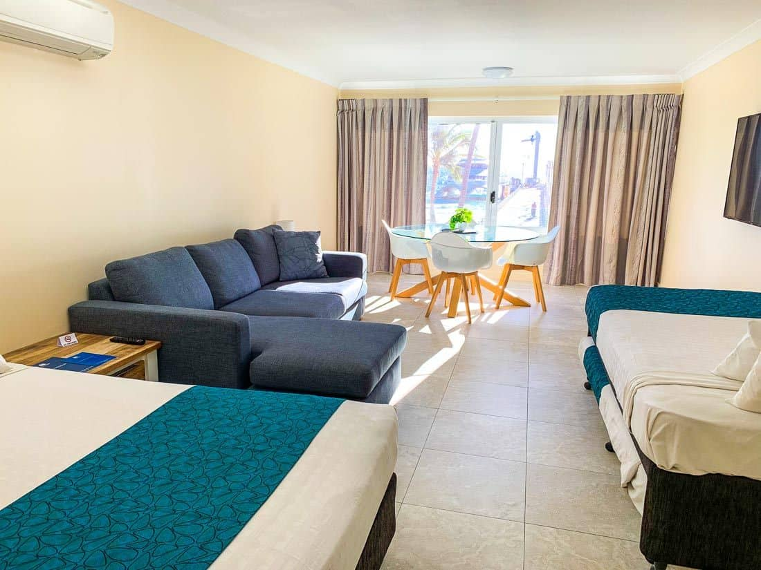 Tangalooma accommodation
