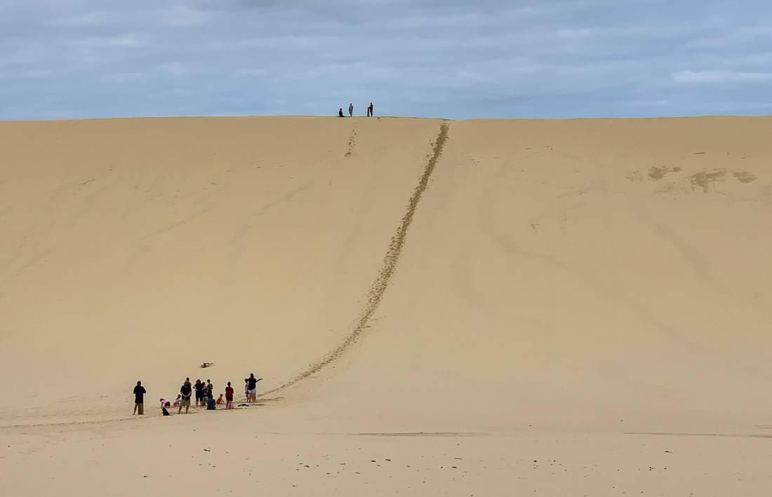 Tangalooma sand dunes