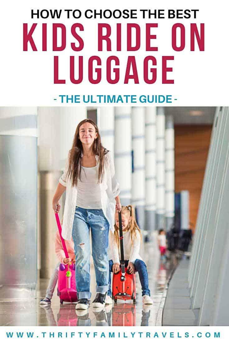 Best Kids Ride On Luggage