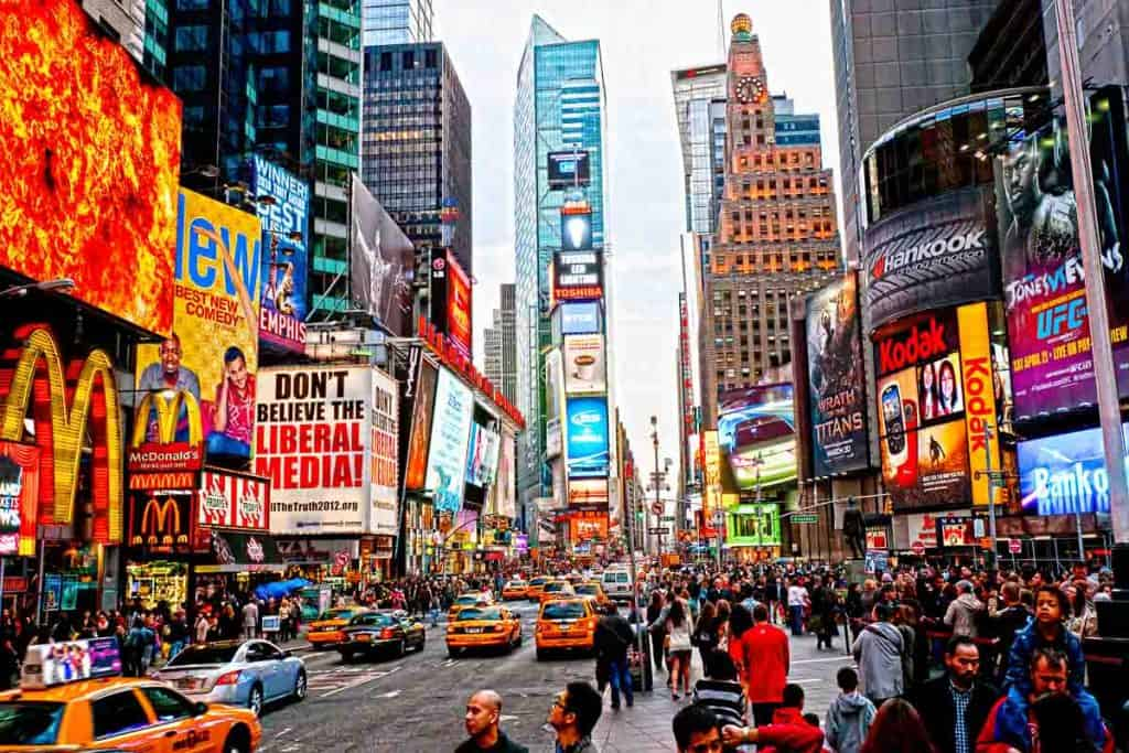 Best hotels in Times Square for families