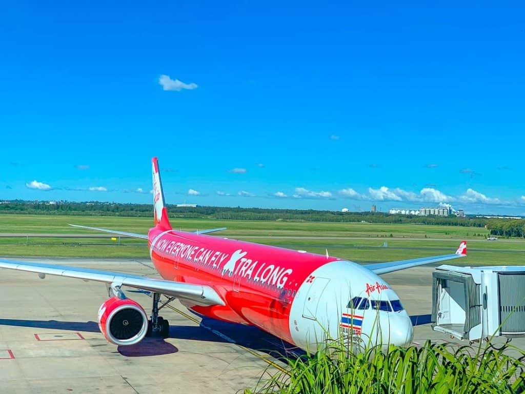 Air Asia Brisbane to Bangkok Review