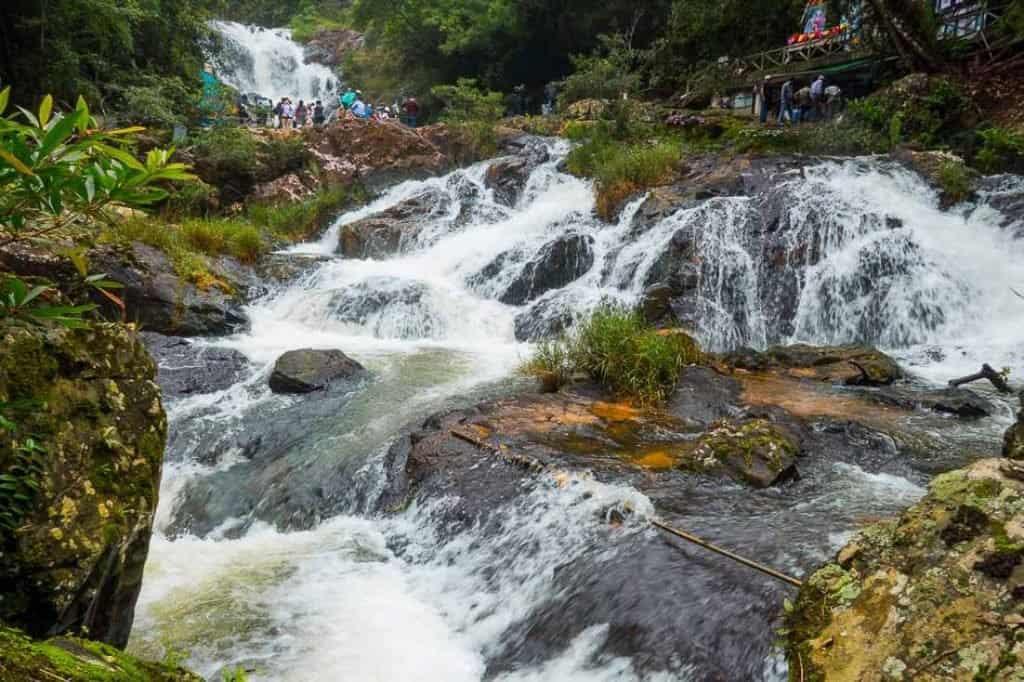 Waterfalls in Dalat
