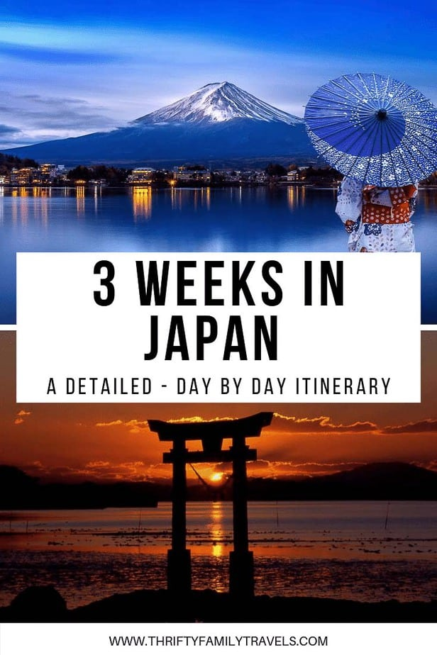 3 weeks in Japan with kids