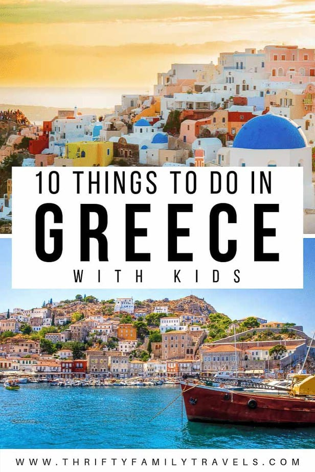 Things to do with kids in Greece
