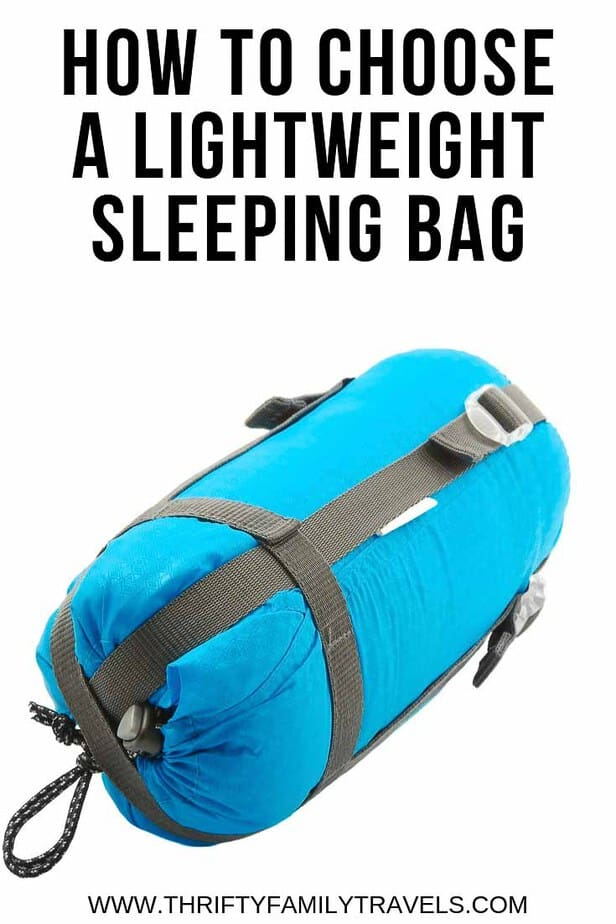 The best lightweight sleeping bag
