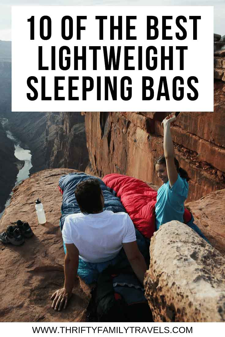 Best lightweight sleeping bags for travel