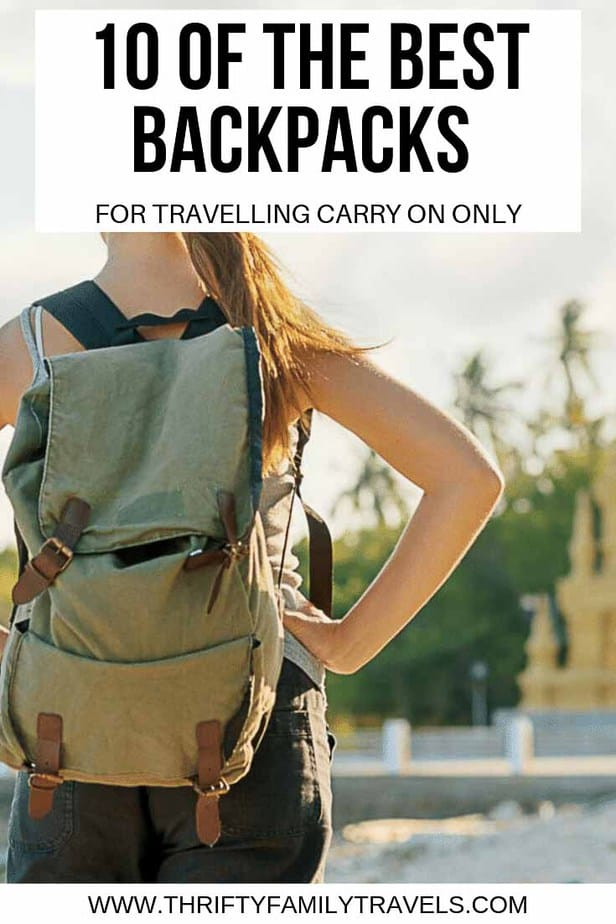 The best carry on backpack