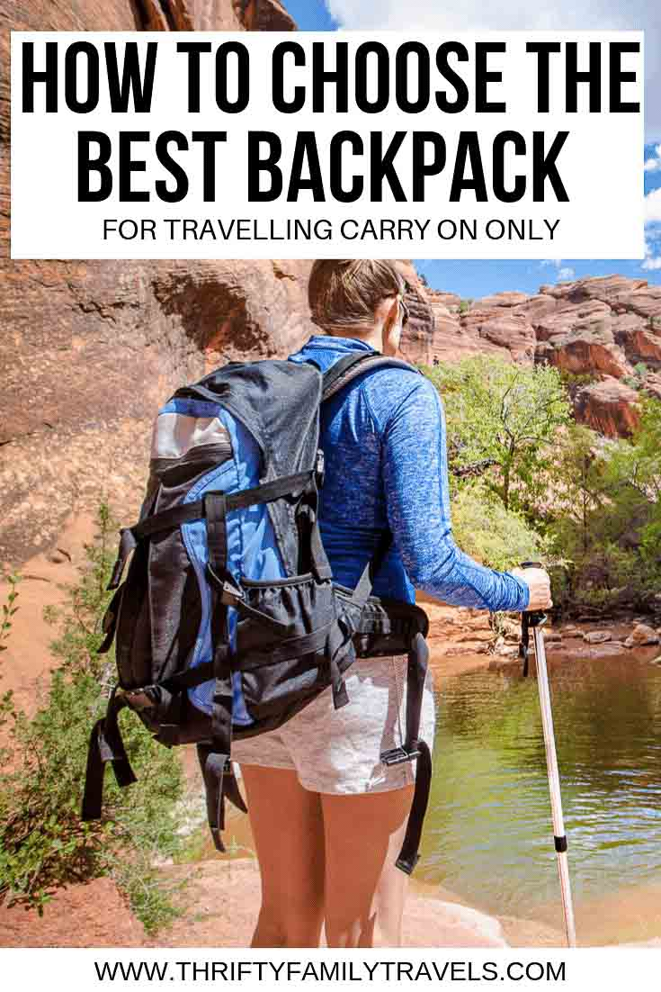 Best Backpack for carry on travel