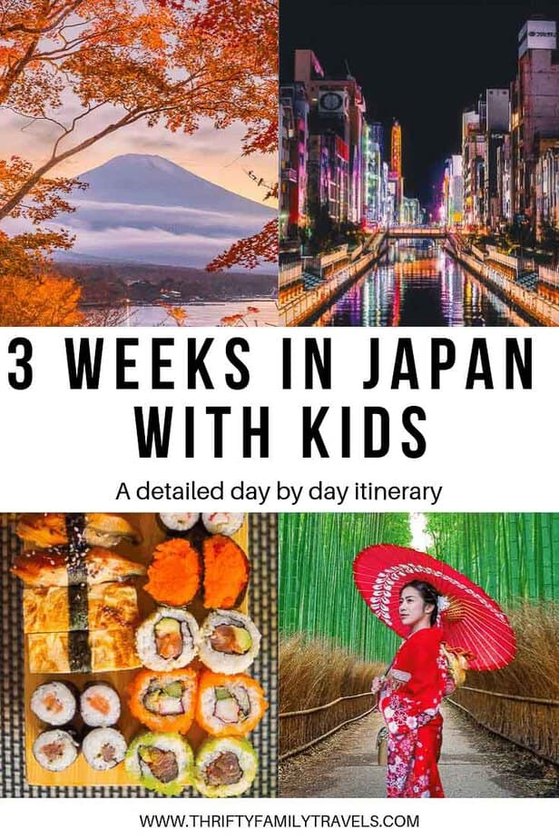Travel to Japan with kids