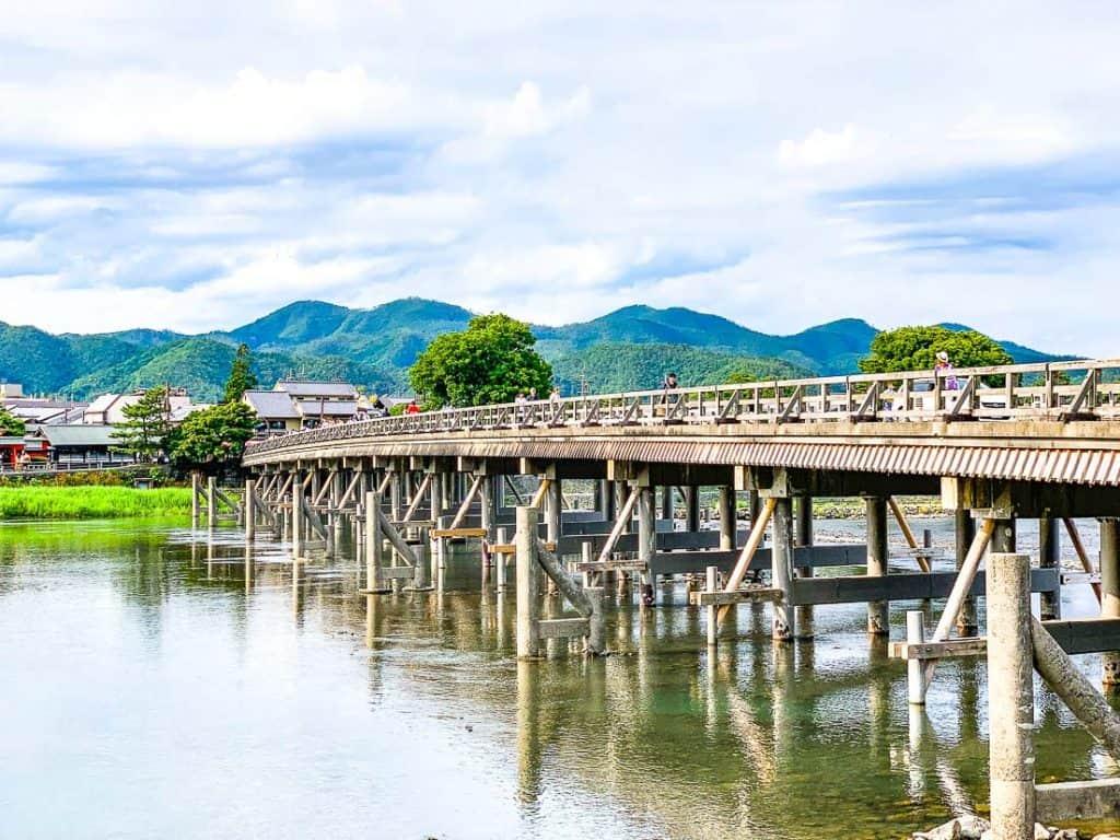 Arashiyama with kids