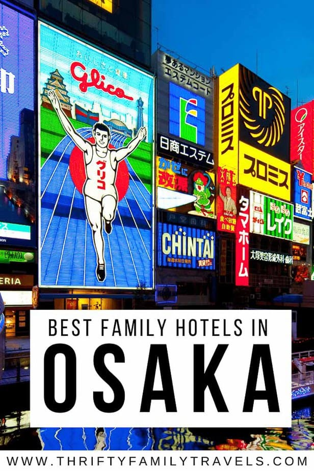 Cheap places to stay in Osaka