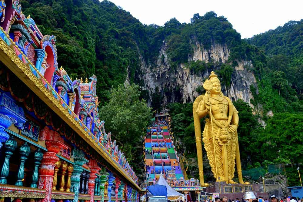 Batu Caves - Places to visit in Kuala Lumpur for family