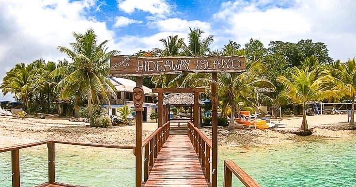 Review of Hideaway Island Resort Vanuatu