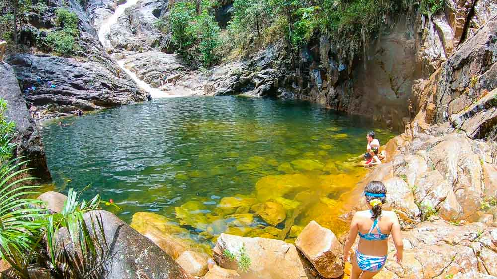 Finch Hatton Gorge - Mackay Waterfalls