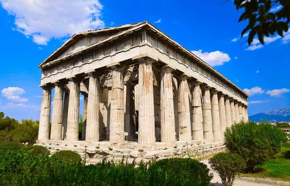 Ancient Agora at Athens,