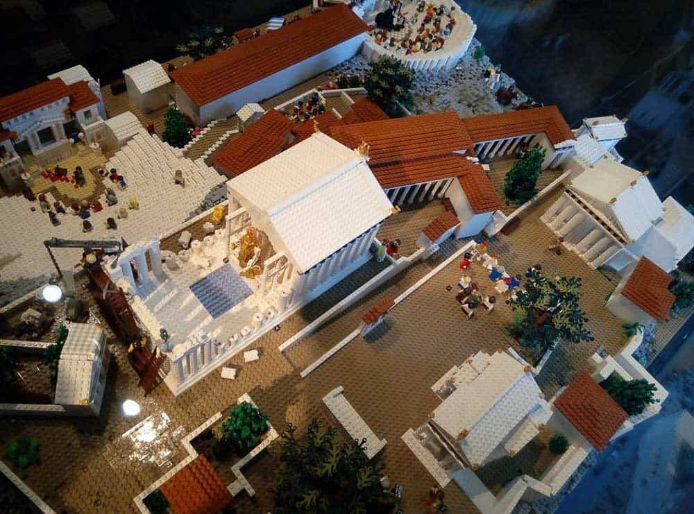 Lego Acropolis museum