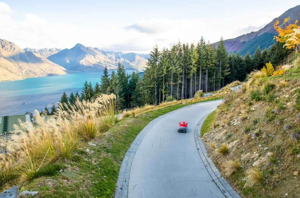 Skyline Luge: Family activities Queenstown