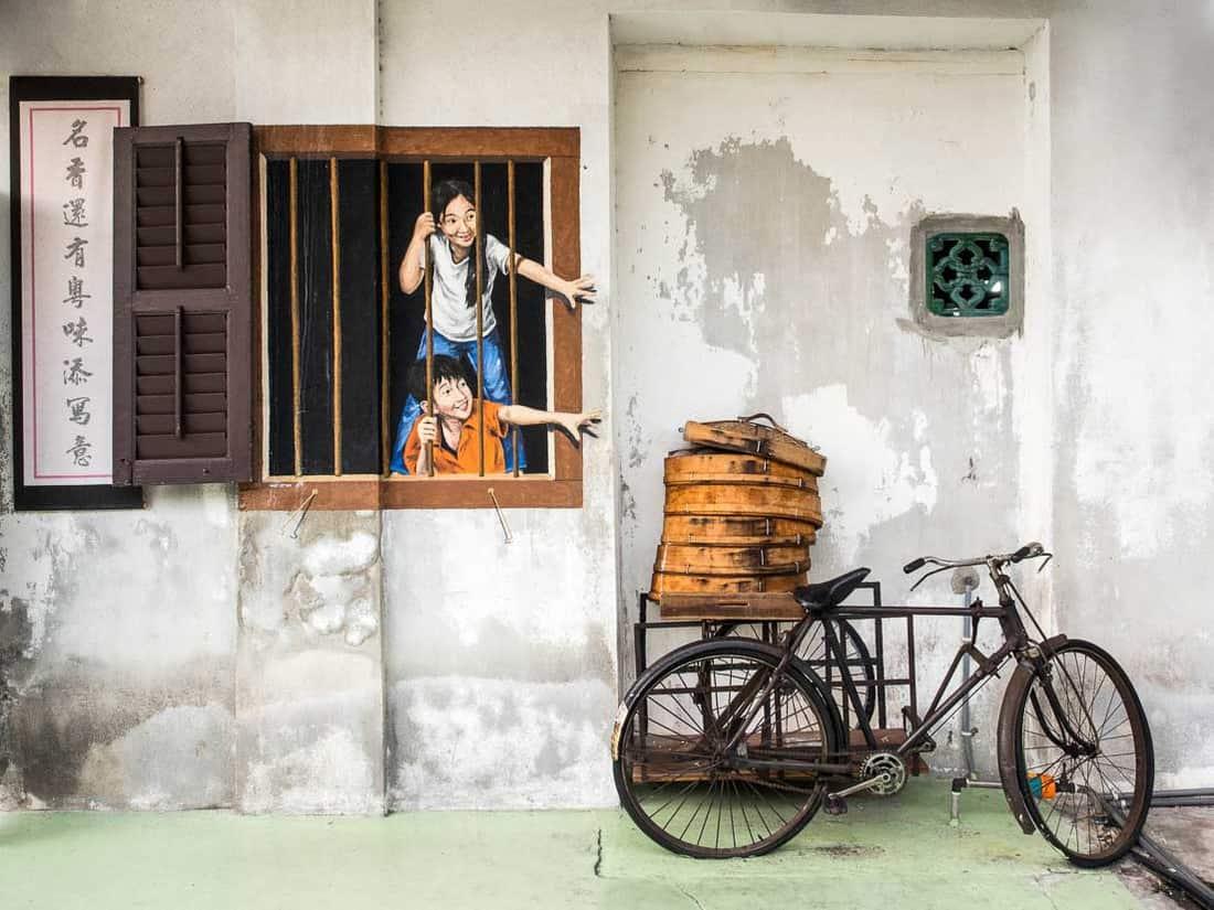 Georgetown Street Art Penang