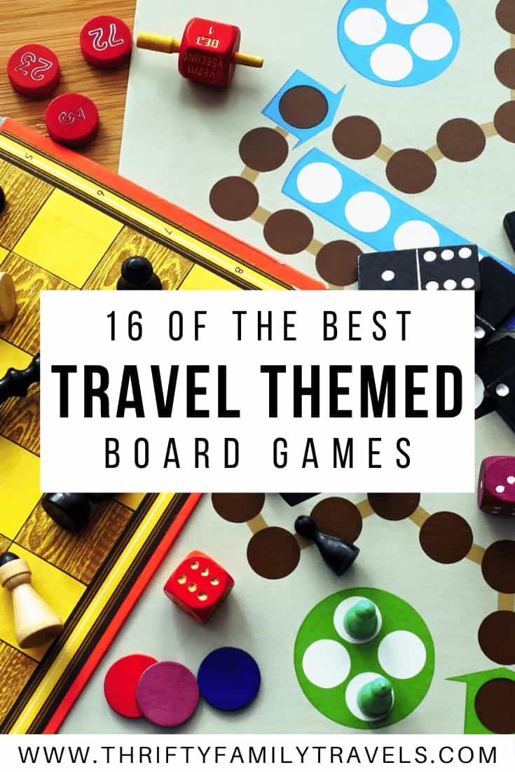 Travel Themed Board Games