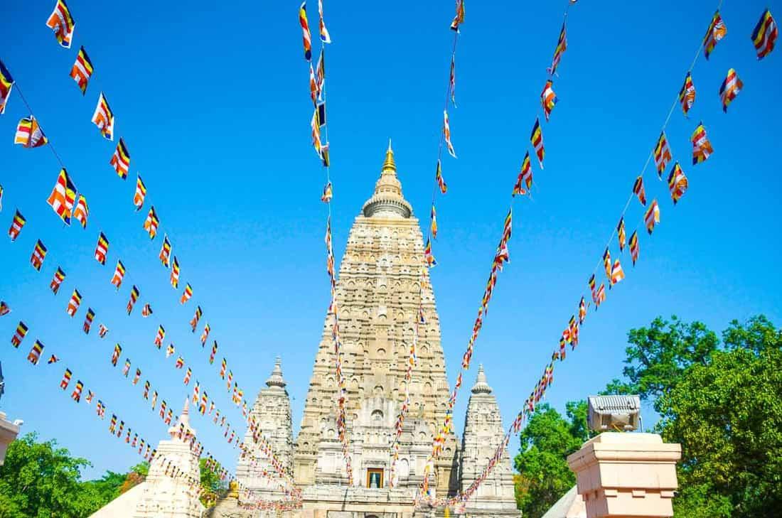 Mahabodhigaya with clear sky