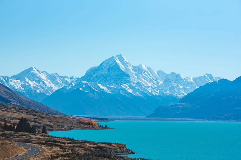 Lake Pukaki - New Zealand family holiday