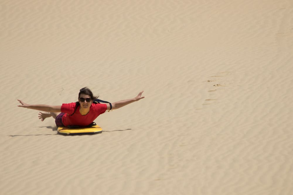 Te Paki Sand Dunes - things to do in New Zealand for kids