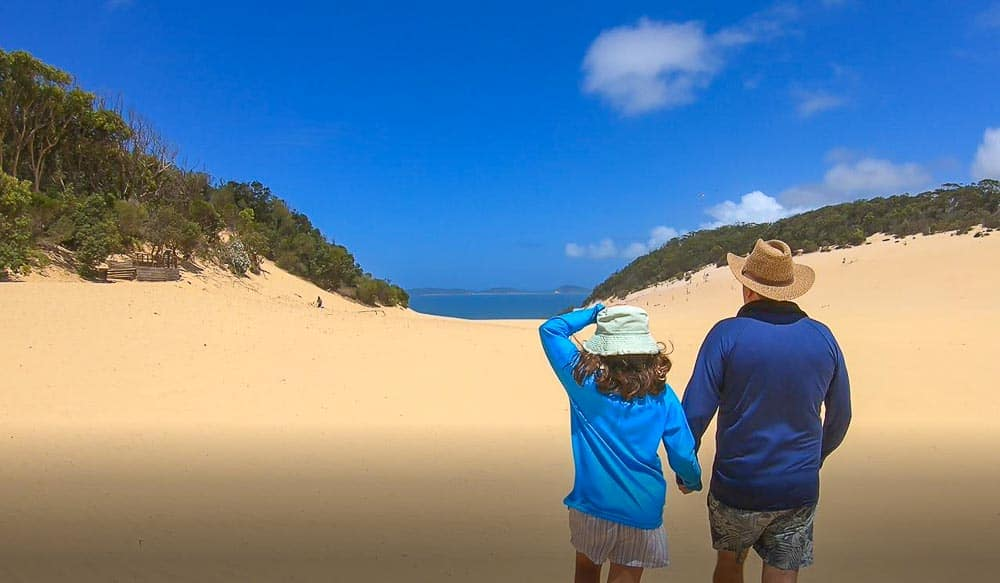 Things to do in Rainbow Beach - Carlo Sand Blow